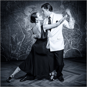 Tango-Postkarte